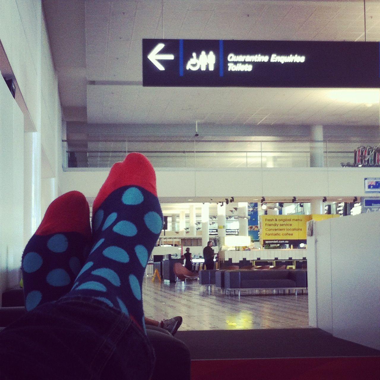 Expert Airport Chillaxin'